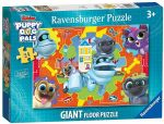 Ravensburger - PUPPY DOG PALS  GIANT FLOOR JIGSAW PUZZLE - 24 Pieces NEW